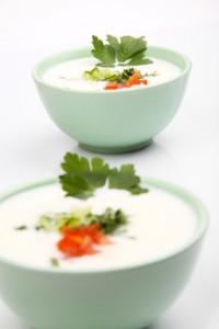 Salade yaourt