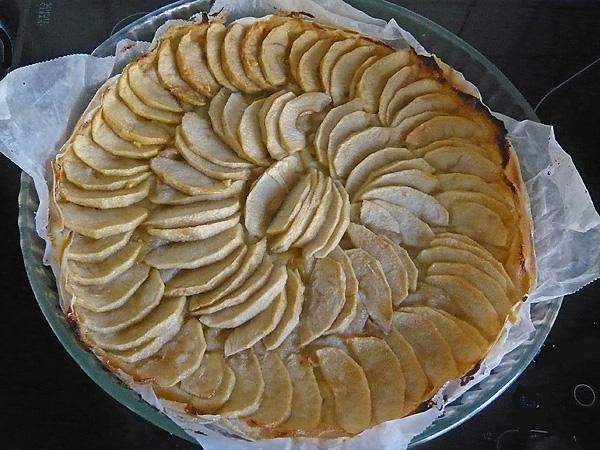 tarte aux pommes l 233 g 232 re sans p 226 te recettes light