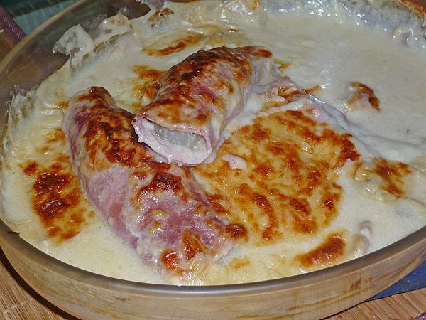 Endives au jambon gratin es recettes light - Recette endives au jambon ...